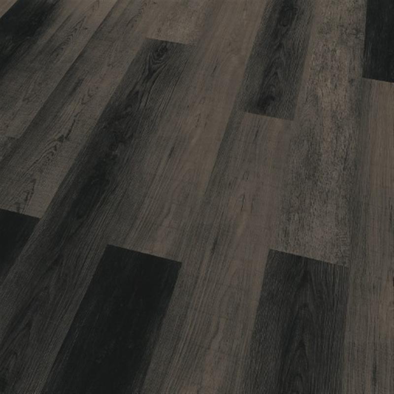 AKTIONSBODEN!!! Vinylboden - Eiche Nacht 873, Rigid Vinylboden Click, PU-vergütet, 4-seitige Mikrofase, Nutzschicht 0,55 mm, Nutzungsklasse 23/34, inkl. integrierter Trittschalldämmung